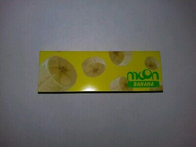 One Pack Of Moon Banana Rolling Papers