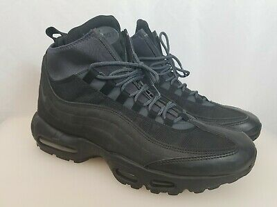 buy online 36cf3 bea65 Nike Air Max 95 Sneakerboot Men s 11 Black Shoes 806809-002 Winterized Boot  Rare