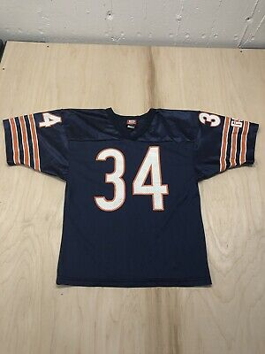 cab9db08438 NIKE ON FIELD Walter Payton 34 Chicago Bears NFL Jersey Youth Size ...