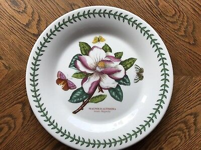 Portmeirion Botanic Garden Dinner Coupe Plate Magnolia 27cm China Brand New