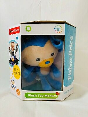 Fisher Price Plush Toy Monkey