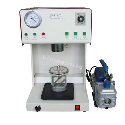500ml Dental dentistry Vacuum Mixer Mixing vibrating Machine with Outer Pump FDA