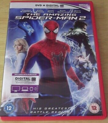 The Amazing Spider-Man 2 (2014 DVD)