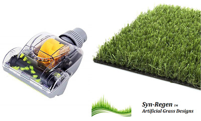 Synthetic Grass Hoover Vacuum Head Fake Lawn Astro Turf Pitch Lawn Repair Tool