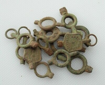 Collectable Lot Of 13 Fob Watch Key Winders - Detecting Finds