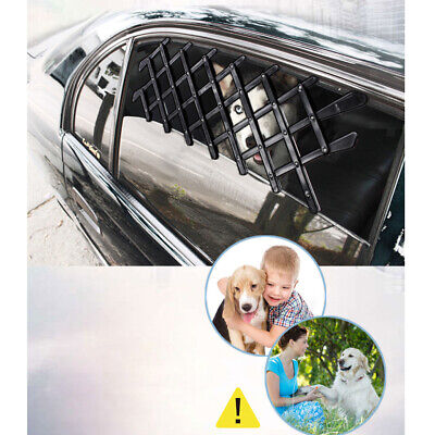 2X BLACK RETRACTABLE Fence Pet Car Truck Window Gate Fashion Safety