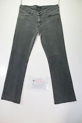Levis 518 Superlow Stretch Bootcut (Cod.Y1772)tg 13M jeans usato Donna Nero