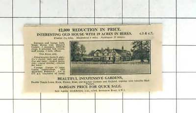 1936 Old House With 19 Acres In Berkshire, Eight Bedrooms, Quick Sale