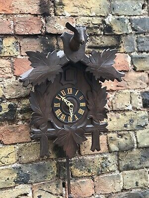 Antique Black Forest Cuckoo Clock