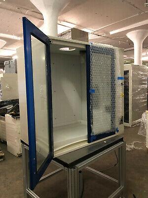 4' Kewaunee Chemical Bench Top Fume Hood with Work Surface & Utility Inlets