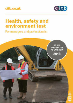 CITB DVD CSCS CARD Test for Managers and Professionals Latest Edition UK