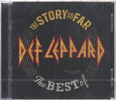 The Story So Far 2 CD's The Best Of Def Leppard 602567910336 - BRAND NEW