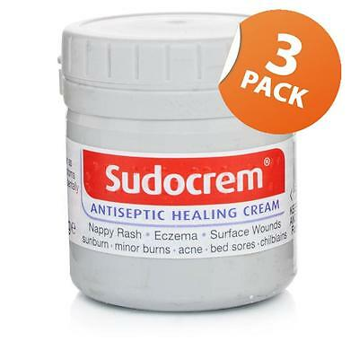 Sudocrem Antiseptic Healing Cream 125g Triple Pack