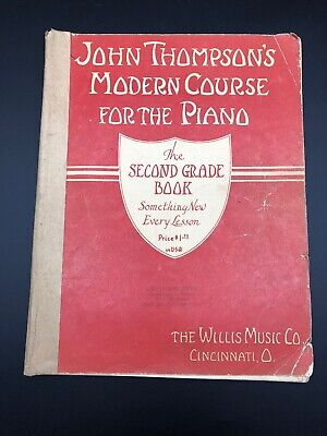 John Thompson/'s Modern Course for the Piano Fourth Grade Book Only Fou 000412454