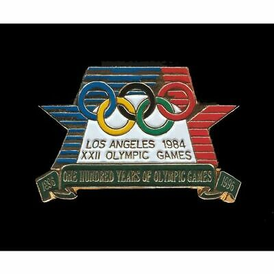 Commemorative Historical Pin Seoul 1988 Atlanta Centennial Summer Olympics