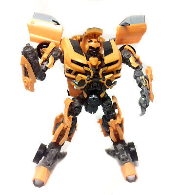 """Transformers LEADER CLASS DOTM Movie BUMBLEBEE car to robot 12"""" figure toy"""