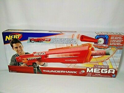 Nerf N-strike Mega Accustrike Thunderhawk Longest Darts Blaster Kids Toy Gun new