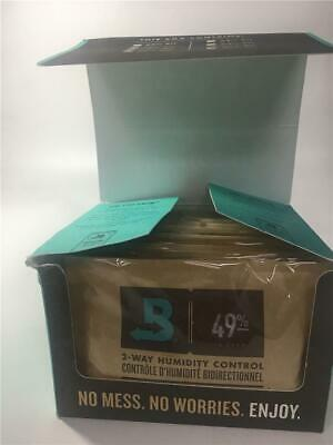 Boveda 2-Way Humidity Control for Guitars, 49-Percent RH, 12-pack 49% RH Level