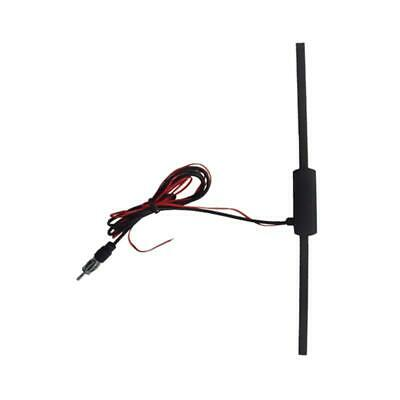 FM Signal Booster Amp Amplifier Auto Car Antenna Aerial Radio Stereo Hidden