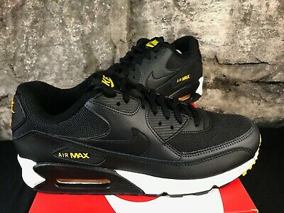 quality design 62d5f f13ed nike air max 90 black yellow