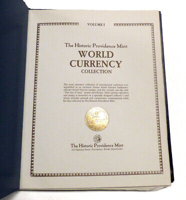 The Historic Providence Mint World Currency Collection Volume I Pristine!