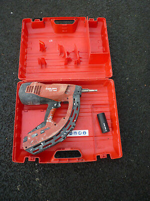 Hilti GX 120 Nail Gas Actuated Fastening Tool With Case GX120 GX-120