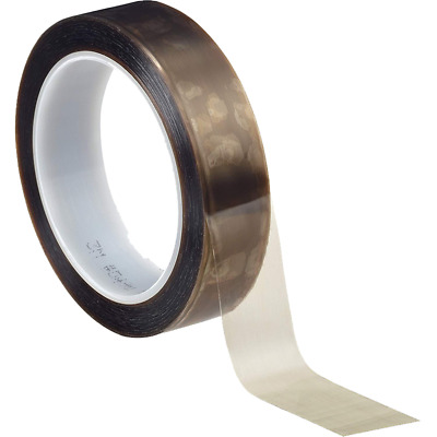 3M™ PTFE Film Tape 5490, Brown, 1 in x 36 yd