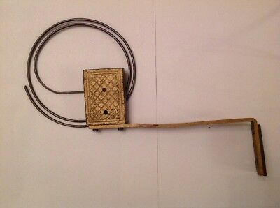 Antique Clock Chime Round Wire Gong Antique Clock Part Large 180x270mm