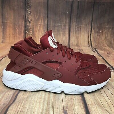hot sale online ca654 a2d3f Nike Air Huarache Team Red Running Shoes Men Size 13 Athletic Shoes 318429- 606