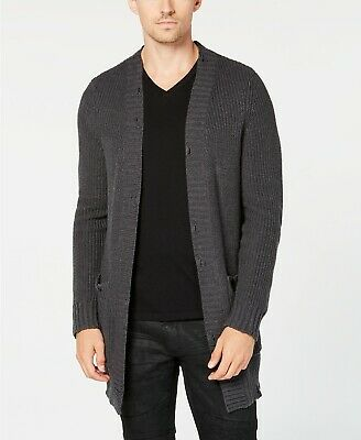 ARTFUL DODGER Men/'s Heather Grey Conspire Cardigan AM83-S02 $148 NEW