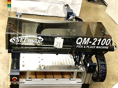QM2100  Desk top SMT Pick and Place Machine - Working Condition - SMTmax