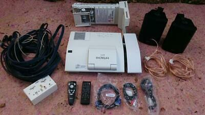 Ultra Short Throw 2200 Lmn Hdmi Usb Hdtv. Hitachi  Lcd Projector With Extras