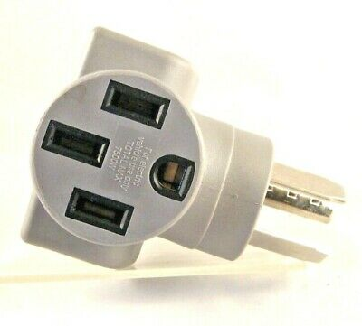 Charging Adapter  3 Prong Dryer Plug to Tesla Electrical Vehicle Charging