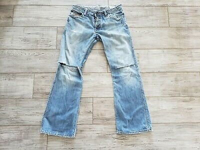 6e828f74 Vintage Diesel ZAF Jeans Distressed Men Size 31 x 31 008BC Made in Italy