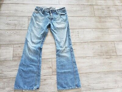 6dda642a Vintage Diesel ZAF Jeans Distressed Men Size 31 x 31 008BC Made in Italy  Paint