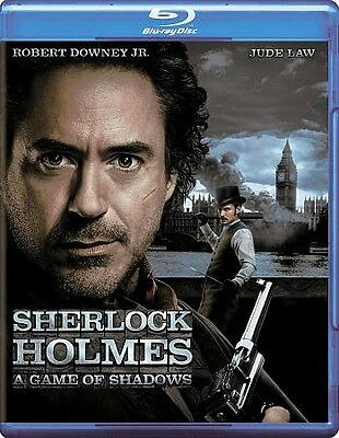 Sherlock Holmes: A Game of Shadows (Blu-ray Disc) - **DISC ONLY**