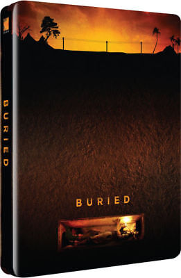 Buried (Enterrado) Steelbook 2000 Copies Zavvi Blu-Ray VERSION FRANÇAISE INCLUSE