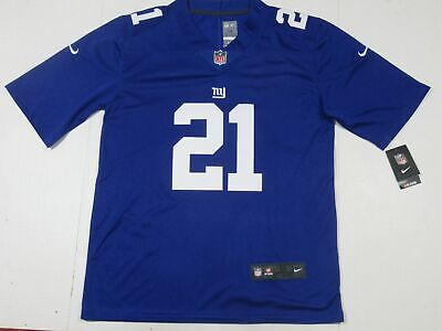 d401a0e6005 Landon Collins #21 New York Giants VAPOR Limited Traded Player Royal Blue  Jersey