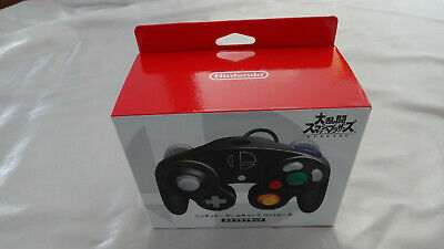 Official Nintendo GameCube Switch Super Smash Bros. Black Controller Japan