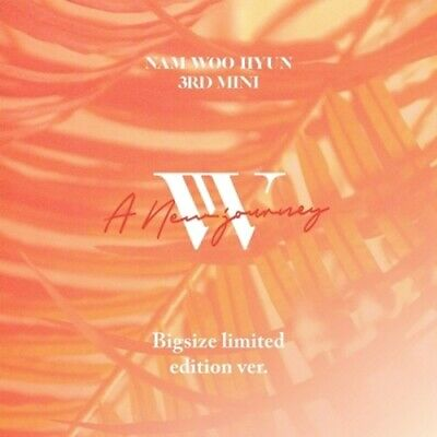 Nam Woohyun[A New Journey]3rd Mini Album Limited CD+Poster+Booklet+Card+etc+Gift