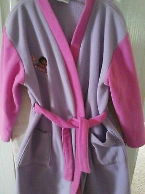 🙌Dora the Explorer girls dressing gown aged 4-5 years. 🙌