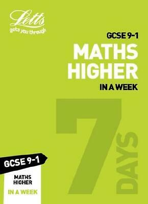 GCSE 9-1 Maths Higher in a Week by Fiona C Mapp (author)