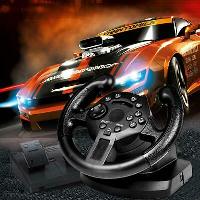 Game Racing Steering F/ One With PC Brake Gift Pedal Xbox Wheel PS3 PS4 5HRO