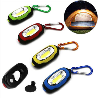 Camping light LED keychain Camping light Portable Flashlight Mini Keychain Torch