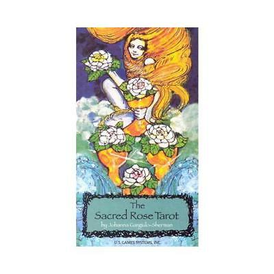 The Sacred Rose Tarot by Sherman, Johanna Gargiulo