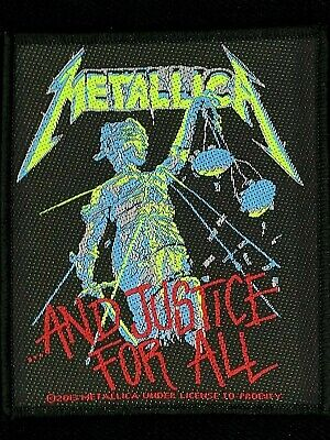 Metallica - And Justice For All Patch - metal band merch