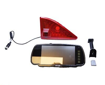 "Renault Master Van 2010 Onwards Reverse Brake Light Camera +7"" Stalk Monitor Kit"