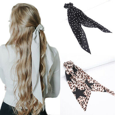 Women's Hair Bow Ties Scrunchies Ponytail Rope Fashion Hair Band Accessories