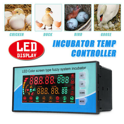 220V Digital LED Automatic Incubator Chicken Egg Hatcher Temperature Controller