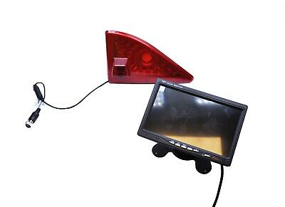 "Renault Master Van 2010 Onwards Reverse Brake Light Camera + 7"" LCD Dash Monitor"